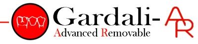 Gardali AR logo revised red dot